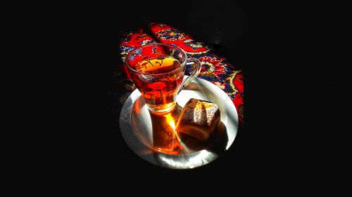 Tea, Sweet and Persian Carpet